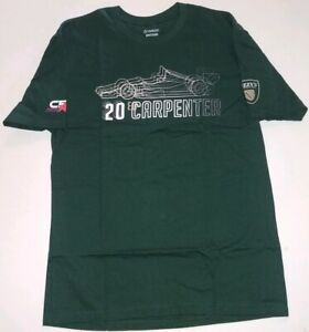 Ed Carpenter Racing #20 Fuzzy's Vodka Mens Super Soft T-Shirt New Large 1106