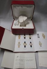 Cartier Watch Box CO1018 Instructions Service Blank Guarantee Certificate Books+