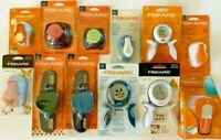 Lot of 12 Mixed Fiskars Paper Punches - Border Corner Squeeze Intricate NIP X12