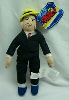 """DICK TRACY 9"""" Plush STUFFED ANIMAL Toy Toy Network NEW w/ TAG"""