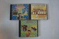 CD-Konvolut Golden Memories, 3 Alben mit Hits der 50er & 60er, Restbest. CD(38)