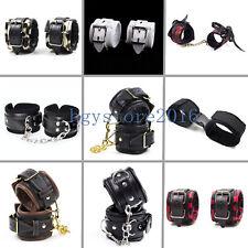 Unisex Handcuffs Anklecuffs Wrist Cuffs Restraints Bondage Roleplay Game New