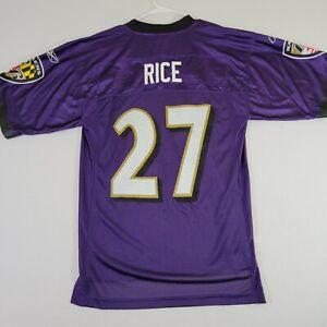 New Reebok Jersey NFL Equipment Ray Rice #27 Vintage Sz L