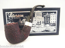 Peterson Special Pipe Extra Large Bent Rustic P-Lip (House Pipe Size)