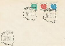 Poland postmark WARSZAWA - XV lat PRL