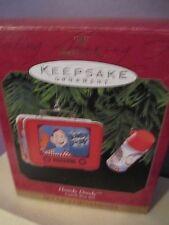 Hallmark Keepsake Howdy Doody Lunch Box and Thermos set of 2 ornaments 1999