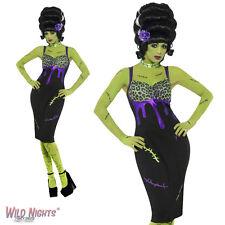 Halloween Vestido De Lujo # Pin Up Frankie Traje Tamaño 8-18
