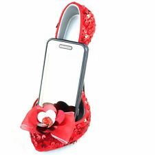 New Jacki Design GLAMOUR NITE RED Shoe Cell phone Stand Holder Organizer  gift