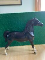 Breyer Traditional Horse Morgan Black w/ Stockings and Star
