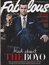 FABULOUS UK Magazine , 13 March 2011,Steve Jones, Alex Jones. TOWIE