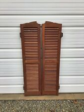 1950s Bar Saloon Doors Vintage Swinging Doors - Architectural Salvage A7