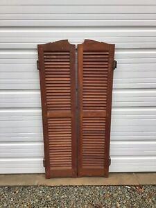 1950s Bar Saloon Doors Vintage Swinging Doors - Architectural Salvage A7