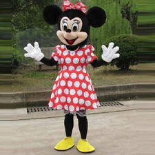 Hot Sale Minnie Mouse Adult Mascot Costume Party Clothing Fancy Dress