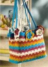 TRENDY Out With Baby Felted Bag/Crochet Pattern INSTRUCTIONS ONLY
