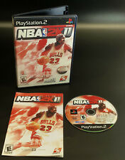 Nba 2K11 (Sony Ps2 PlayStation 2, 2010) Michael Jordan - Cib Complete Tested