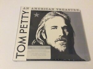 TOM PETTY AN AMERICAN TREASURE DOUBLE CD DIGIPAK NEW AND SEALED.  J1