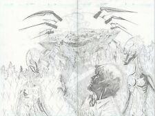 SOS AUCTION WALT FLANAGAN ORIGINAL ART DYNAMITE CRYPTOZOIC MAN ISSUE 1 PAGE 12-3