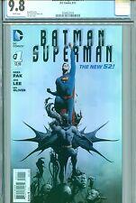 BATMAN SUPERMAN #1 CGC 9.8 THE NEW 52 DC COMICS 2013