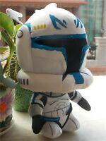 Star Wars Super Deformed Captain Rex Clone Trooper Soft Plush Toy NEW