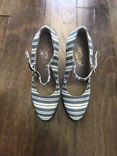 NIB $625 Vivienne Westwood Striped Mary Jane Pumps 37 / 7