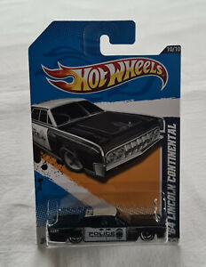 2012 Hot Wheels HW Main Street #170 1964 Lincoln Continental Police New