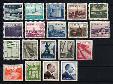 1959/60 TURKEY PICTORIAL POSTAGE STAMPS COMPLETE SET OF 19 MNH**