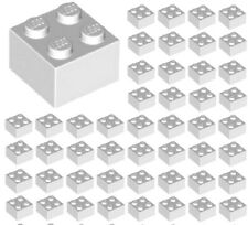 LEGO Light Bluish Gray Plate Modified 1x3 with 2 Studs Lot of 50 Parts Pieces