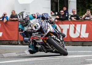 Michael Dunlop 2018 TT Superbike Winner A4 Photo