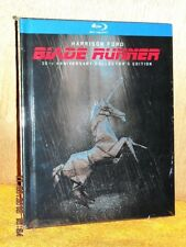Blade Runner 30th Anniversary Collection (Blu-ray,2012, 3-Disc) Harrison Ford