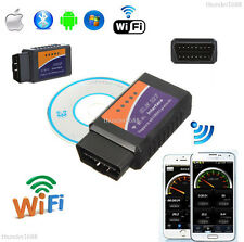 WiFi ELM327 OBDII OBD2 Interface Car Diagnostic Scanner Auto Scan Tool Adapter
