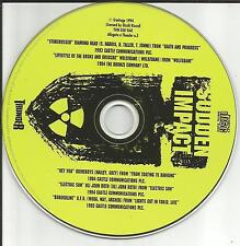 USA seller EUROPE  RARE PROMO CD w/ WOLFSBANE Quireboys U.F.O. Diamond Head UFO