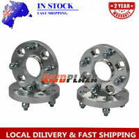 4PCS Wheel Spacer Adapters Aluminum For Ford Fiesta 4x108 20mm Hubcentric