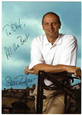 Steven Redgrave Olympiasieger - Rudern - original signierte Autogrammkarte