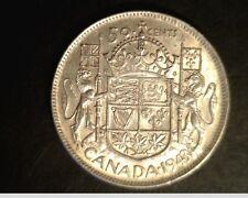 1943 Canada, 50 Cents, High Grade Silver, .3000 oz (Can-682)