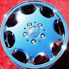 "SET OF 4 CHROME 15"" MERCEDES BENZ C220 C230 C240 C280 E320 E420 OEM WHEELS 65158"