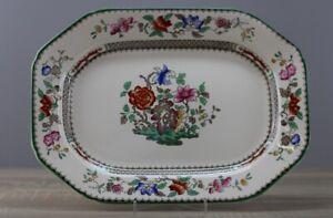 Spode Chinese Rose Servierplatte Beilagenplatte Platte ca. 31 x 22,5 cm