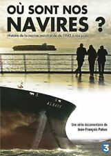 Ou SONT NOS NAVIRES - DVD ~ Jean-François PAHUN - NEUF - VERSION FRANÇAISE
