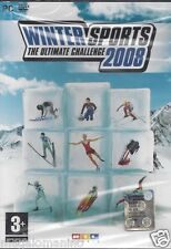 PC Gioco **WINTER SPORTS ♦ THE ULTIMATE CHALLENGE 2008** Nuovo Originale Italian