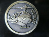Australian Vietnam War Huey Copter Badge Lapel Pin