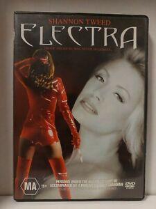 ELECTRA Region 4 Dvd Shannon 1995 Erotic Pleasure FREE SHIPPING 💯 % + Feedback
