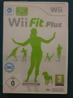 Wii Fit Plus Game Boxed & Complete With Manual In Good Condition