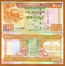Hong Kong, $1000, 2002, HSBC, P-206b, UNC > Lion