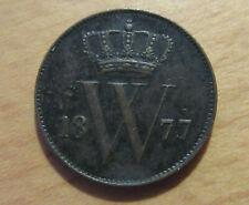 Netherlands 1 cent 1877 Willem III - great condition !