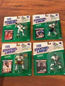 Lot of (4) 1989 NFL Starting Lineup football figures in Packages - Marcus Allen