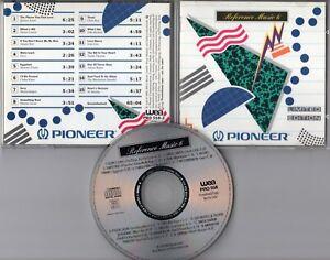 Pioneer CD REFERENCE MUSIC 6 © 1990 Limited Edition QUINCY JONES Westernhagen