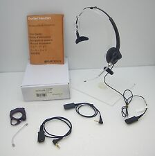 Plantronics H141 Headset PTH300 with Spectralink cable replaces PTH100 / PTH200