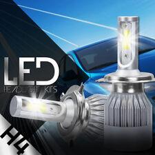 XENTEC COB H4 HB2 9003 488W 48800LM LED Headlight Kit Hi/Lo Power Bulbs 6500K