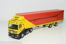 LION CAR BASED DAF 95 SPACE CAB SA-TRANS TRUCK WITH TRAILER RARE