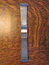 "NOS BULOVA Accutron KREISLER Stainless Steel WATCH BRACELET 17mm 18mm 11/16"""