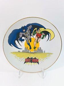DC Super Heroes Batman & Robin Collectors Plate #920 The International Museum
